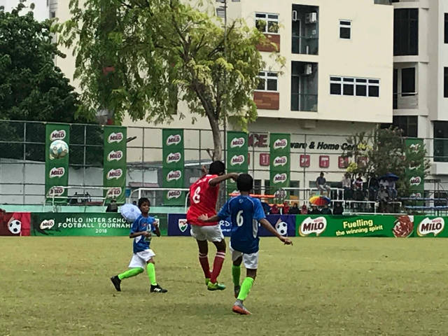Inter-School U14 Football Tournament  Majeediyya VS Billabong - Image 1