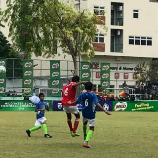 Inter-School U14 Football Tournament  Majeediyya VS Billabong