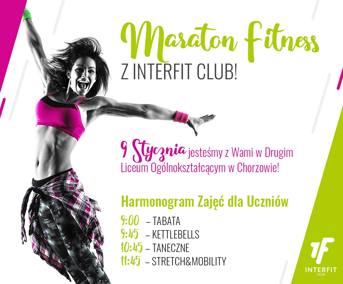 Maraton fitnes z Interfit Club - Obrazek 1